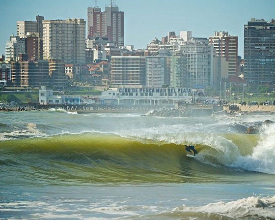 Mar del Plata: Martin Passeri gets home barrel
