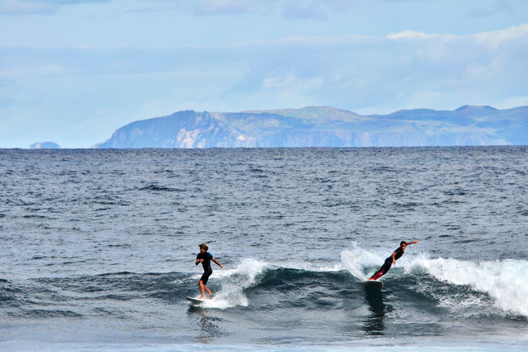 Azores: more surf spots than existing towns