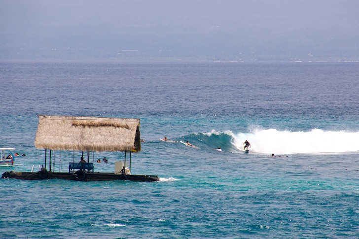 The surfing sanctuary of Bali