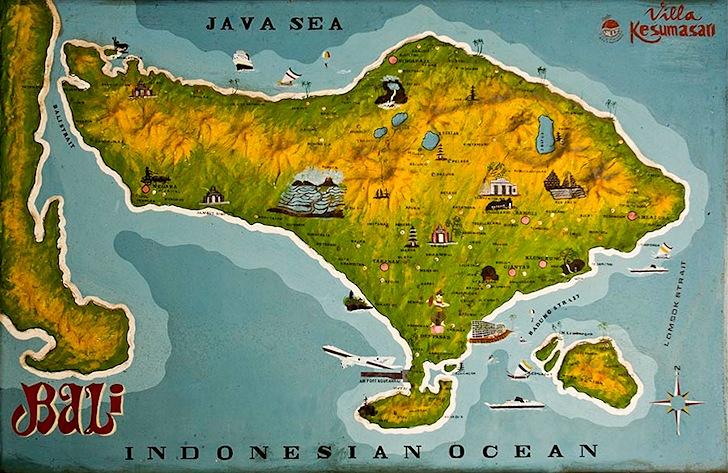 Bali: a surfing island