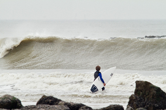 Belgium: 65 kilometers of perfect waves