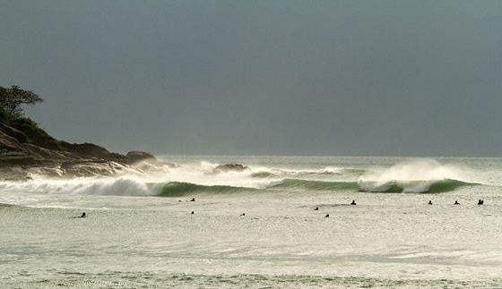 Surfing in China: there's plenty of waves and offshore winds