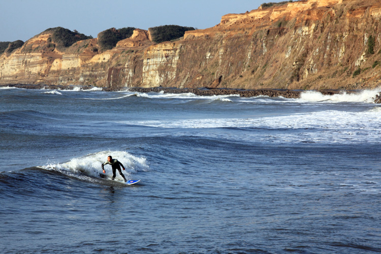 Choshi: natural waves in Japan | Photo: Tanaka Juuyoh/Creative Commons