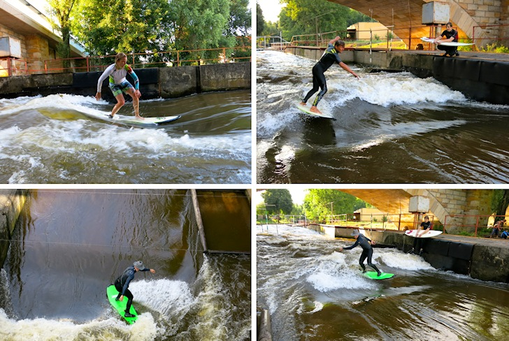 Surfing in the Czech Republic: a river wave is better than nothing | Photos: Surfwave.cz