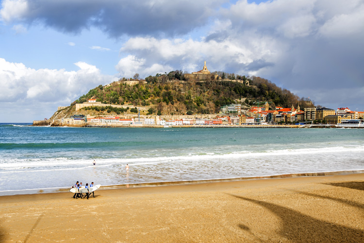 San Sebastian/Donostia: the local surf cluster is a serious business
