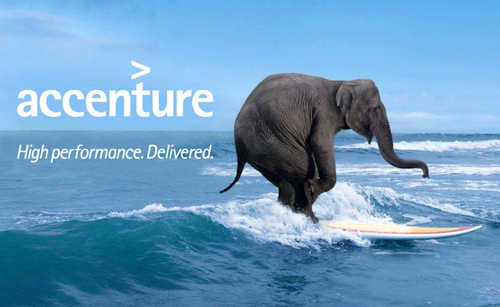 The Surfing Elephant: Accenture will produce surfboards, one day