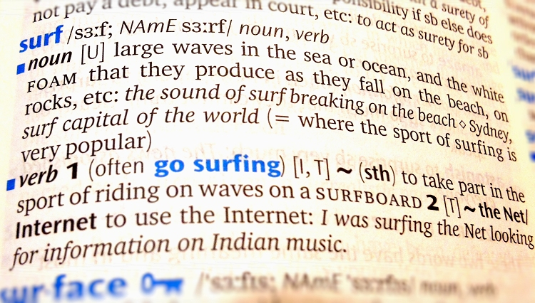 The Origin Of The Word Surfing