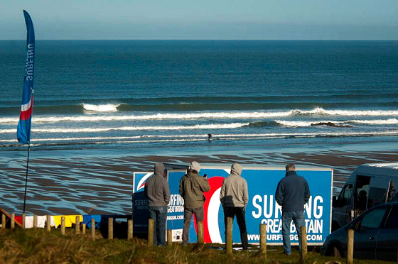 Surfing Great Britain: green as the English country