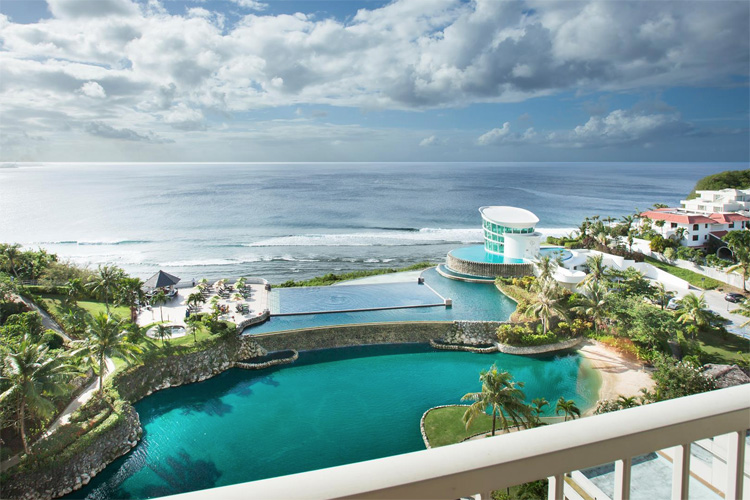 Rick's Reef, Guam: a perfect-peeling right-hand wave | Photo: Sheraton Laguna Guam Resort