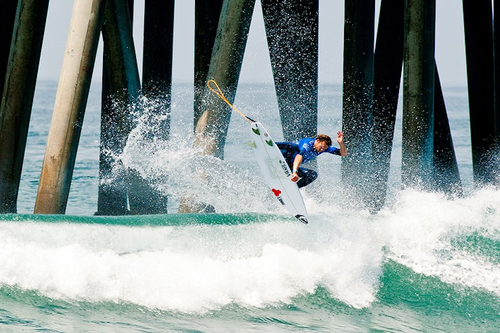 US Open of Surfing: Dane Reynolds finds a quality ramp | Photo: US Open of Surfing