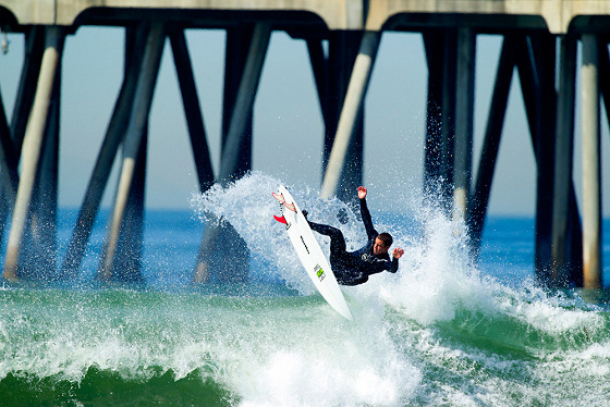 Huntington Beach: home of the Californian surfing style