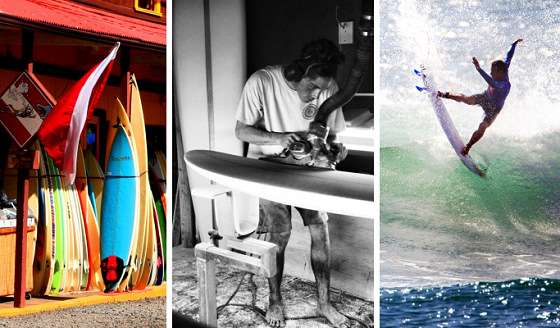 Surfing: who's got power and influence?