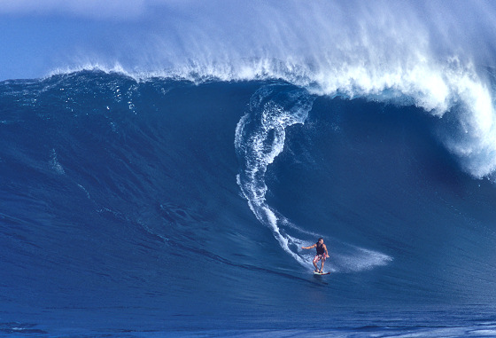 Jaws: big wave surfing circus