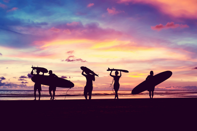 Surfing: an important, but not the sole, component of our life | Photo: Shutterstock