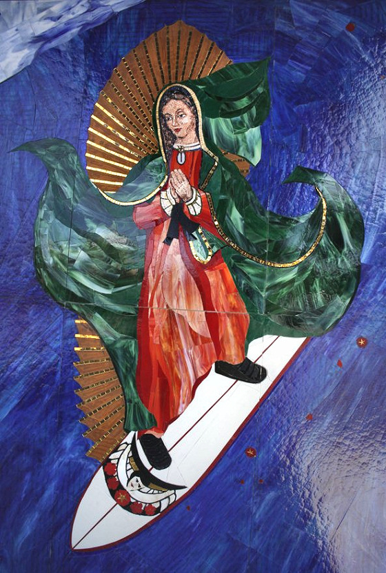 Surfing Madonna: come on, it is gorgeous