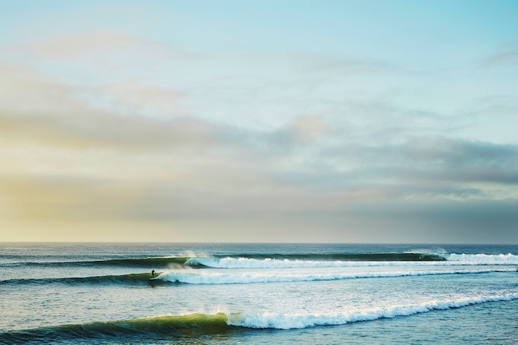 Perfect Malibu: a surfing dream | Photo: Lippman