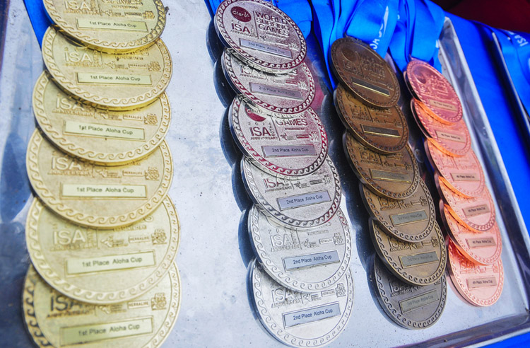 ISA World Surfing Games: medals are already part of the surfing world | Photo: ISA