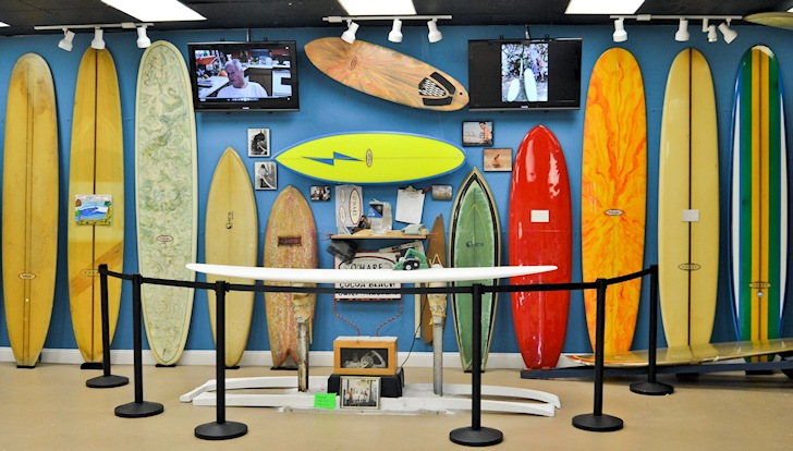 Cocoa Beach Surf Museum: where are Kelly Slater's boards?