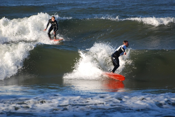 Poland: lots of waves for everyone in the Baltic Sea