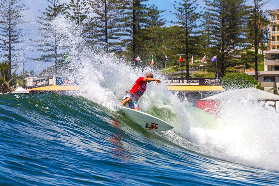 Quiksilver Pro Gold Coast: who is this man?