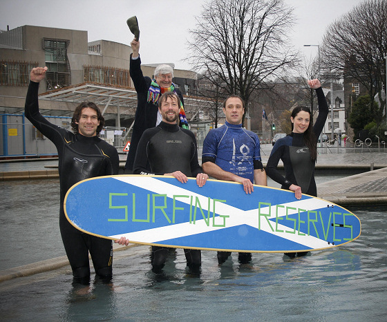 Surfers Against Sewage defend surfing reserves