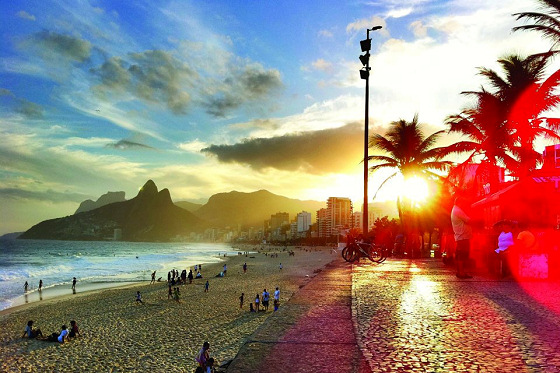 Rio de Janeiro: the perfect beach for surfing in the Olympic Games