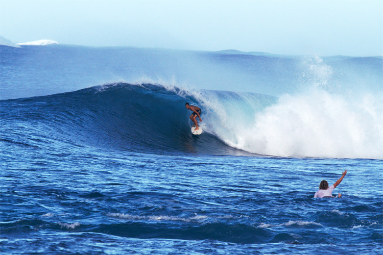 Samoa: surfers have over 400 kilometers of coastline to explore | Photo: SSA