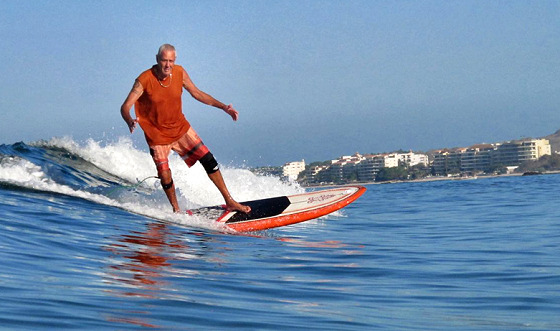 Surfing Swami: pioneer of surfing in India