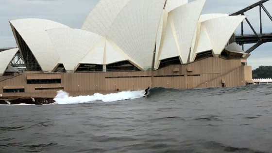 Sydney Opera House: the next big thing of surfing in Australia