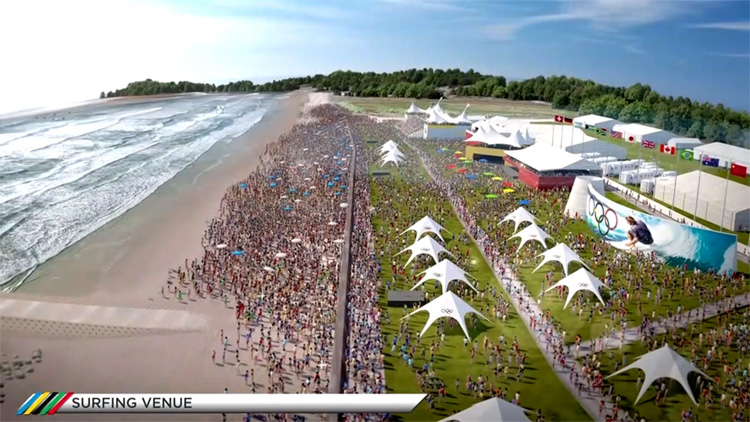 Tokyo 2020: Chiba will host the Olympic surfing competition