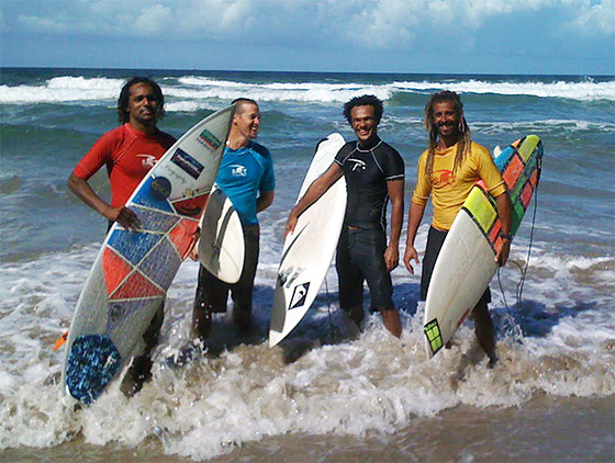 Trinidad & Tobago surfers: first event completed
