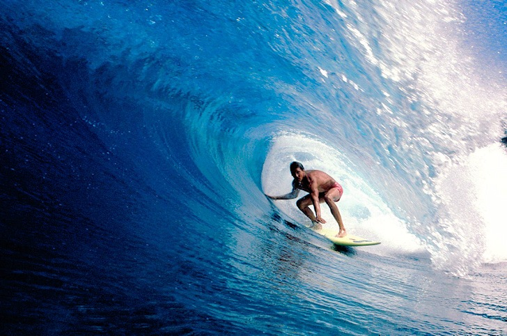 Surfing: only 8% of the time riding a wave