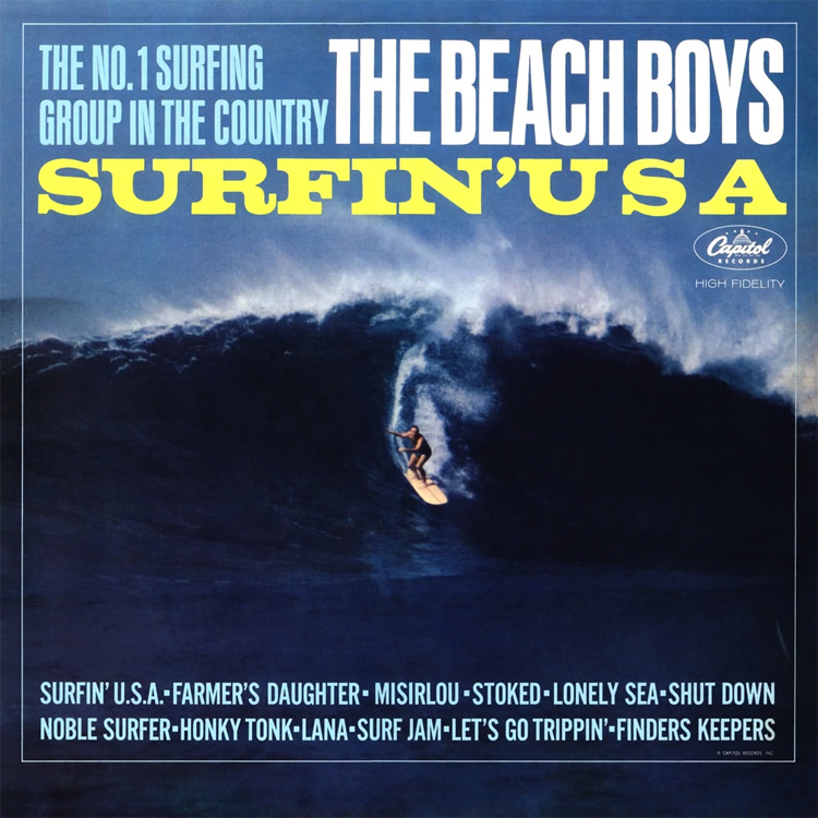 Surfin' USA: one of the most popular songs by The Beach Boys