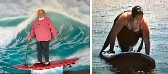 Surf kooks: girls know how to do it