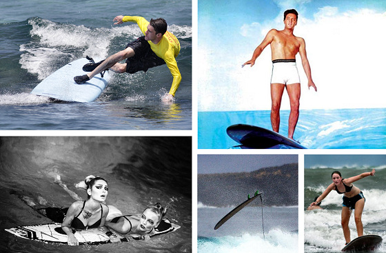 Surf kooks: Elvis was a great surfer