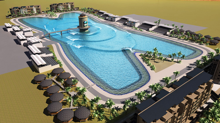 Surf lakes promises 3000 rides per hour in brisbane for Piscina wave
