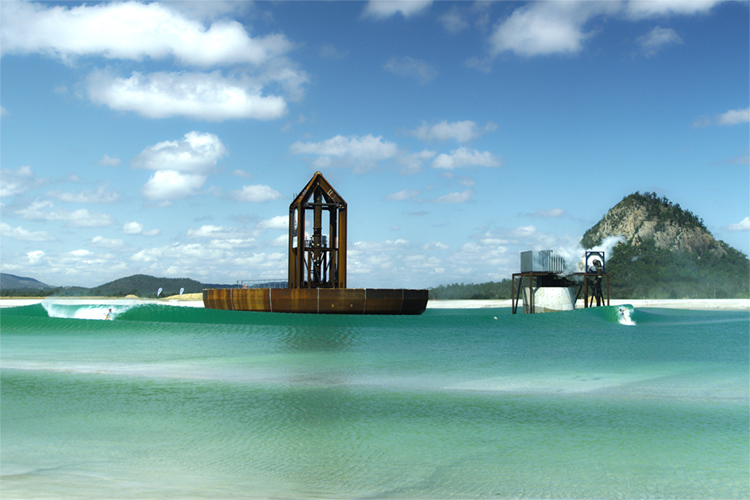 Surf Lakes: the concentric wave technology is heading to the Gold Coast | Photo: Surf Lakes