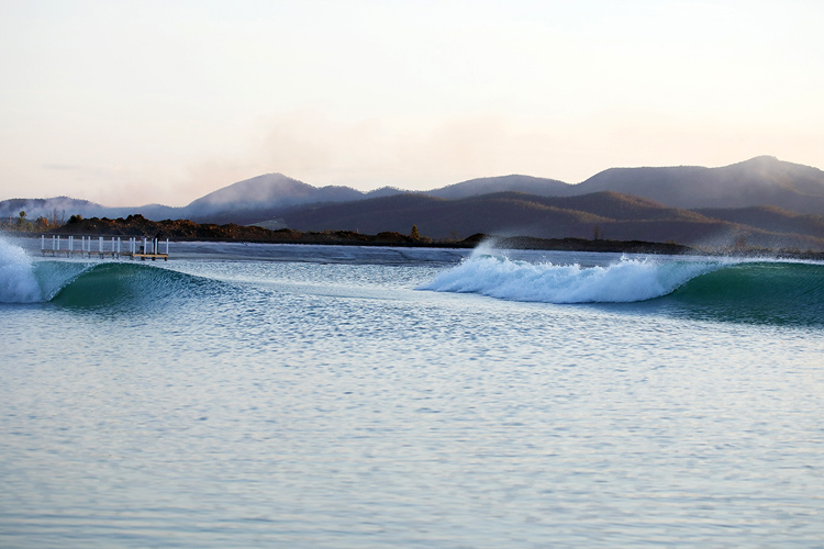 Surf Lakes: the wave pool is capable of producing up to 2,400 perfect surfing waves | Photo: Surf Lakes