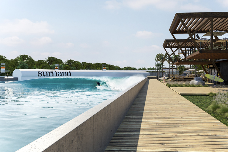 Surfland Brasil: the wave pool will be built in Garopaba | Photo: Wavegarden