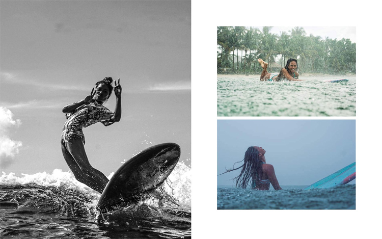 Surf Like a Girl: a tribute to elegance and style in contemporary surfing