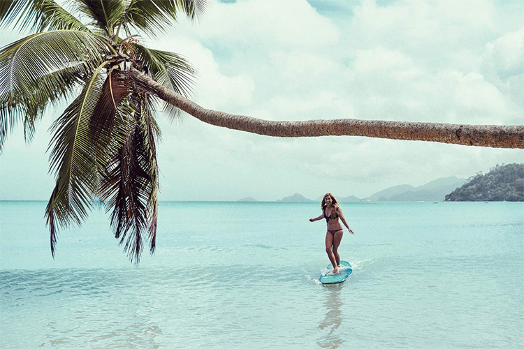 Surf Like a Girl: a stunning 256-page book about women
