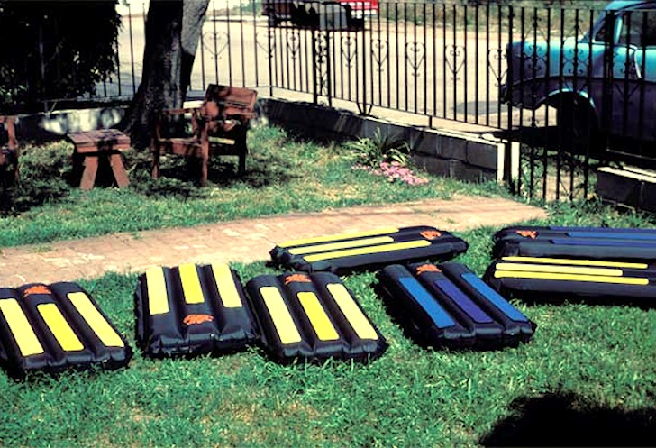 Surf mats: the original 4th Gear Flyer from the 1980s