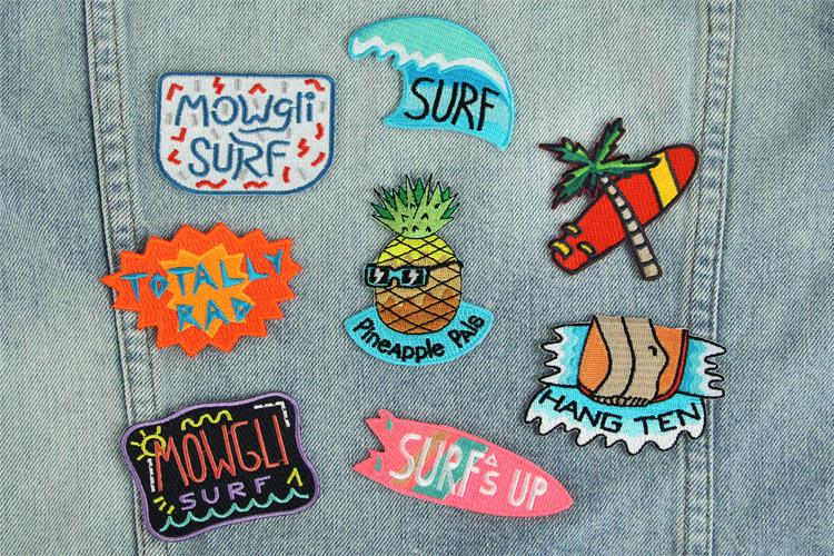 Surf patches: wear them, show them | Photo: Mowgli