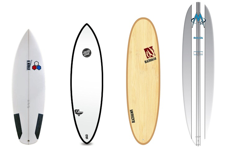 Surf quiver: get the perfect surfboards for life