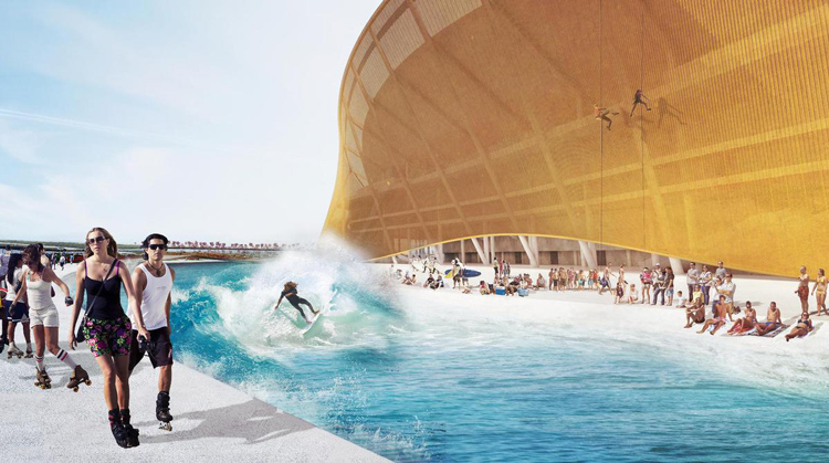 Washington Redskins: their new stadium will feature a surf pool | Photo: Michael Fairbanks/BIG