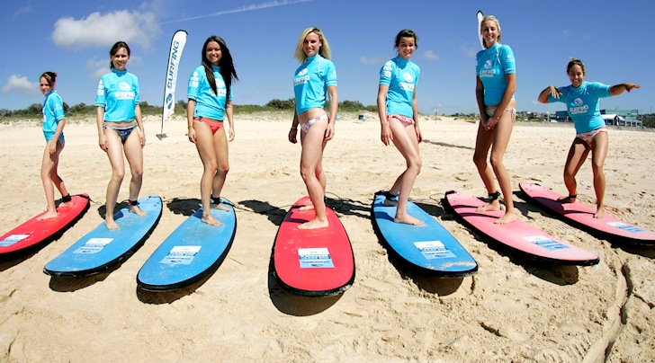 Surf schools: quality participants require quality surf instructors | Photo: Surfing Australia