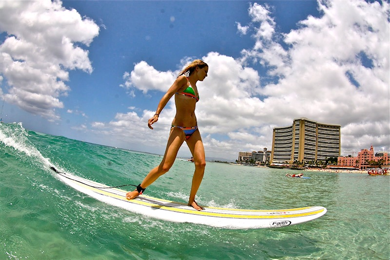 Surf schools: learning to surf is easy | Photo: Hawaii Surf Lessons