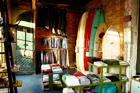 Surf shop: still a good business | Photo: Mollusk Surf Shop