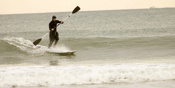 Surf skiing: Jason Starr invented what everyone thought of but never made it