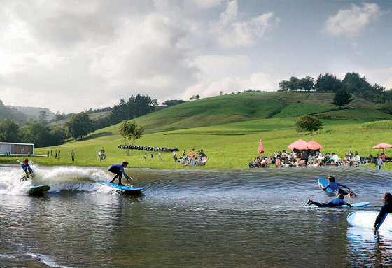 Surf Snowdonia: UK's first surf pool